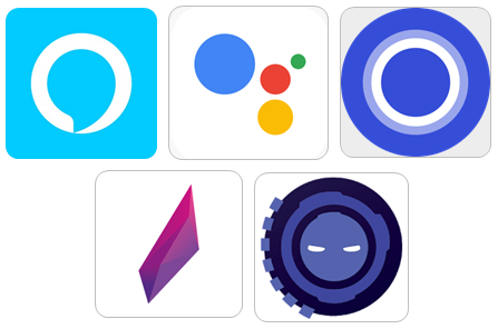 Image of Personal Assistant App Icons